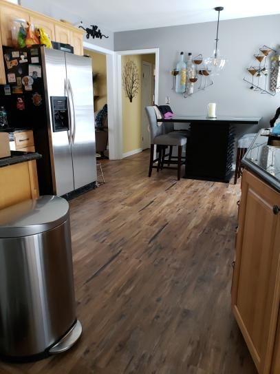 Lifeproof Take Home Sample Trail Oak Luxury Vinyl Flooring 4 In X 4 In 10096713l In 2020 Lifeproof Vinyl Flooring Vinyl Flooring Waterproof Vinyl Plank Flooring