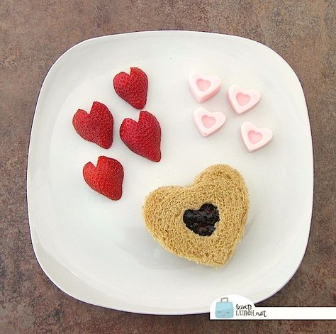 Valentine's Day Snacks from Red Ted Art