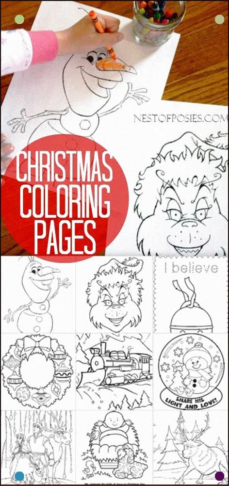 Christmas In July Coloring Pages For Kids Why Not Something Fun And Different To Entertain Them Christmas Coloring Pages Christmas Colors Kids Christmas