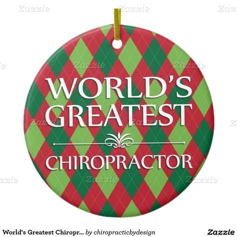 World's Greatest Chiropractor Customized Ornament | Chiropractic Christmas  | Pinterest | Ornaments, Holiday ornaments and Chiropractic - World's Greatest Chiropractor Customized Ornament Chiropractic