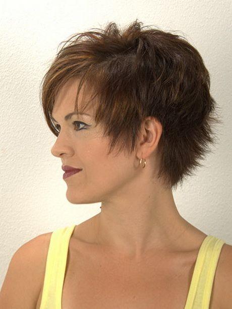 Fransig Kurzhaarfrisuren Kurzhaarfrisuren Haarschnitt Damen Pinterest Frisuren