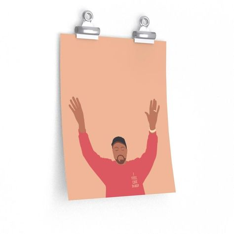 Kanye West I Feel Like Pablo Premium Matte vertical posters - The Life of Pablo TLOP tour merch inspired