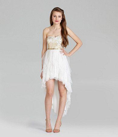 Dillards Formal T Length Dresses Teen Fashion Dresses