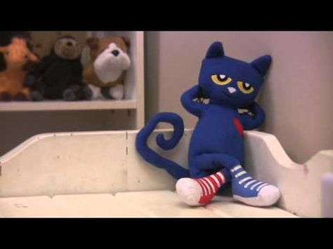 Check out Mr. Eric's video of a dancing Pete the Cat!