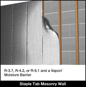 Find Instructions For Using Infrastop With A Block Wall On The Insulationstop Website Creating An Air Gap Is T Concrete Block Walls Concrete Blocks Block Wall