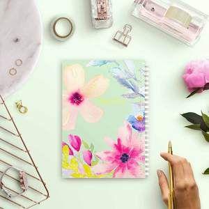 دفتر A5 زهرة ليليا Notebooks Journals Notebook Rectangle