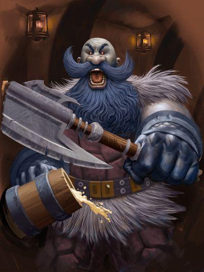 Grim Patron - Hearthstone Wiki | Desenhos incriveis, Desenhos, Desenho