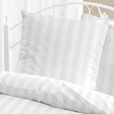 Bettwaesche Damast Streifen Bettwasche Spannbettlaken Und Bettlaken