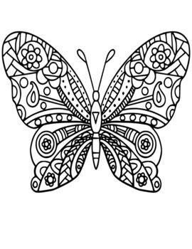 Butterfly Coloring Pages Butterfly Coloring Page Coloring Pages Coloring Pages For Boys