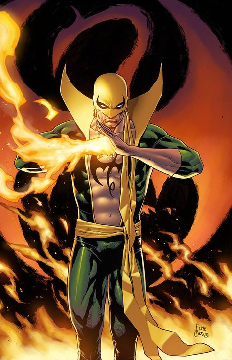 the Immortal Iron Fist - illustrated by Fritz Fulo Casas, my colors. I hope Omar Guerrero will enjoy our favorite Marvel Comics character. Dc Comics Superheroes, Marvel Comics Art, Marvel Heroes, Superhero Characters, Comic Book Characters, Comic Books Art, Iron Fist Comic, Iron Fist Marvel, Univers Marvel