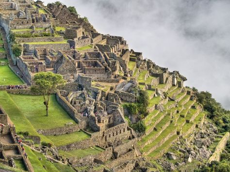 Gorod Inkov Machu Pikchu Peru Machu Pikchu Gorod Arhitektura