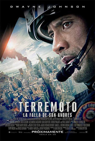Terremoto La Falla De San Andres Falla De San Andres San Andreas Carteleras De Cine