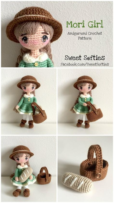 41+ Cute and Lovely Amigurumi doll Crochet Pattern Ideas - Page 9 ... | 842x474