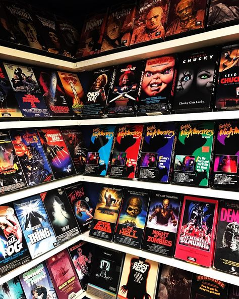 Guy Builds A VHS 'Store' In His Basement And It Might Give You Nostalgia