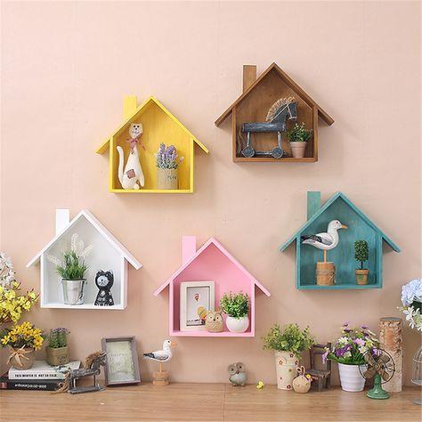 Wooden Wall Shelves For Living Room