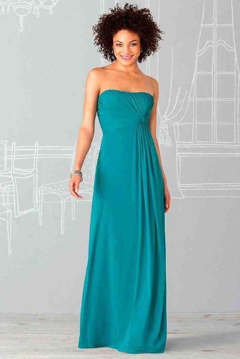 Turquoise Bridesmaid Dresses Under 100