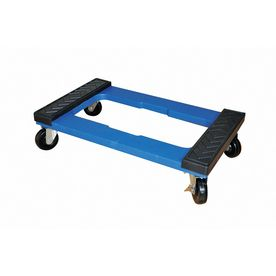 Shop Milwaukee 1 000 Lb Capacity Blue Resin Dolly At Lowes Com Dollies For Sale Wheel Dollies Buying Furniture