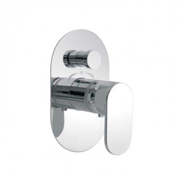 Vado Life Concealed Single Lever Thermostatic Shower Valve With