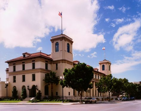 Originally called the U.S. Post Office and Customs House, the Jacob Weinberger U.S. Courthouse also housed the U.S. District Court, Immigration and Naturalization Service (INS), and the U.S. Weather Bureau. Even though the Courthouse was listed in the National Register of Historic Places in 1975, it was abandoned for the following decade. Attention refocused on the building in 1985, when much of the interior was gutted for conversion to INS offices. That same year, however, champions of historic preservation campaigned to restore the building. In 1994, an award-winning renovation and restoration project renewed the historic lobby and main courtroom to their original beauty while creating new offices and courtrooms that evoked the elegant style of the 1913 period.