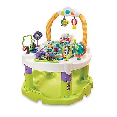 9a371572c Evenflo s ExerSaucer Triple Fun World Explorer Activity Learning ...