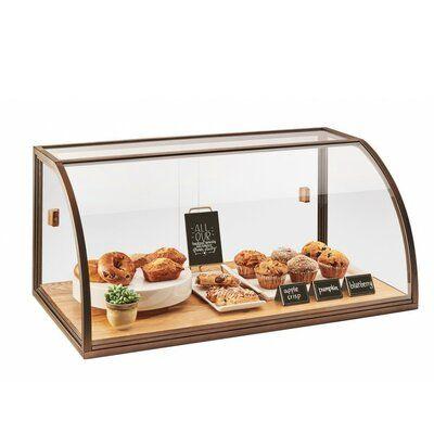 Cal Mil Dual Door Self Serve Bread Box Wayfair In 2020 Vintage Bakery Bakery Display Case Bakery Display