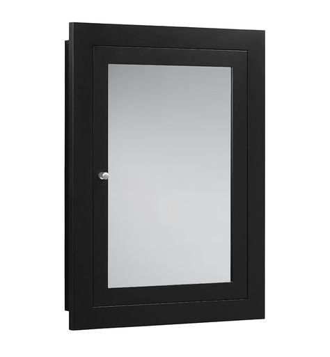 Ronbow 618125 Raine 24 1 2 Rectangular Framed Medicine Cabinet