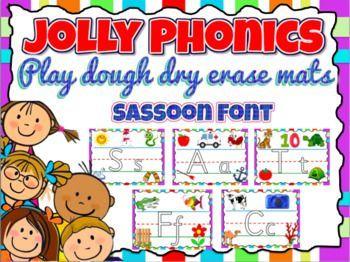 Jolly Phonics Letters Activity Playdough Or Dry Erase Mats Jolly Phonics Activities Phonics Flashcards Phonics