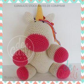 Unicornio Amigurumi - Crochet - Tejido A Mano - $ 700,00 en ... | 284x284
