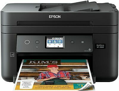 Ad Epson Workforce Wf 2860 A I O Wireless Color Printer With Scanner Copier Fax Epson Printer Printer Scanner Photo Printer