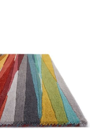 Multi Stripe Rug From The Next Uk