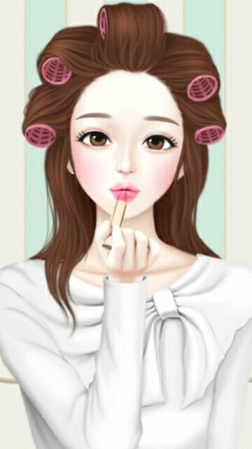 57 Ide Kartun Korea Kartun Gadis Animasi Anime Gadis Cantik
