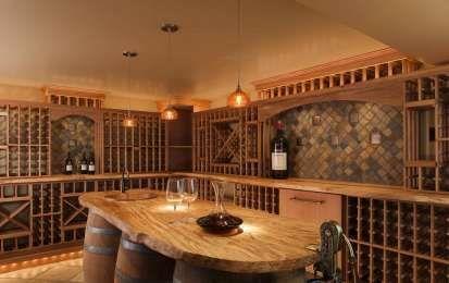 Tavolo botte ~ Arredare la cantina tavolo con botti in cantina wine storage