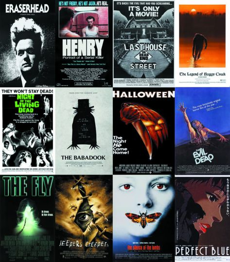 These are a few horror movies I've seen and liked. What do you guys think, and what other horrors should I check out?