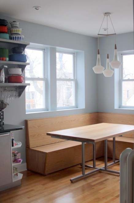 Super Kitchen Table Booth Built Ins Spaces 57 Ideas Diy Kitchen