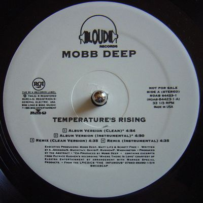 Mobb Deep Temperatures Rising / Still Shinin (1995) (Promo) [Vinyl
