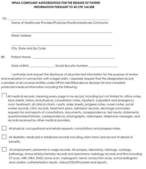 28 Medical Record Forms Template In 2020 Templates Printable