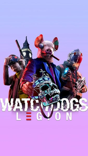 Watch Dogs Legion 4k Hd Mobile Smartphone And Pc Desktop Laptop Wallpaper 3840x2160 1920x1080 2160x3840 1080x1920 Watch Dogs Skateboard Art Design Dogs