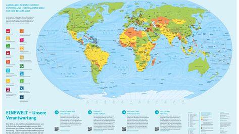 Weltkarte Als Pdf Zum Ausdrucken Gleich Herunterladen