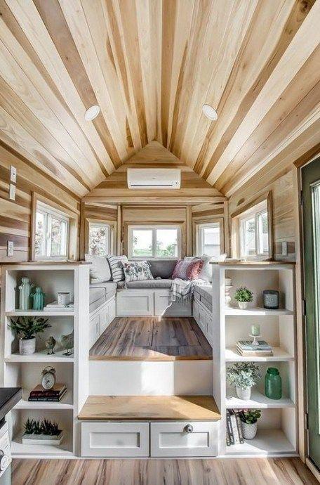 80 Clever Tiny House Interior Design Ideas 44 Tiny House Decor Modern Tiny House Tiny House Living
