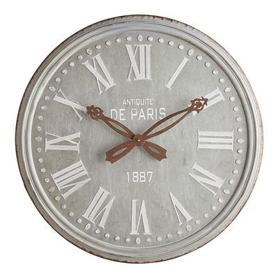 Pier 1 Peacock Mosaic Clock Makes Watching Time Beautiful Home Goods Decor Clock Wall Clock