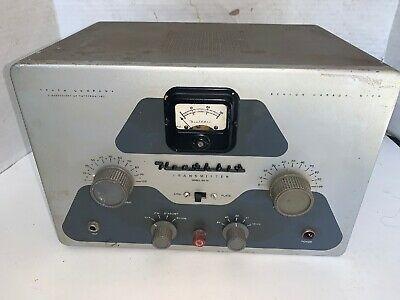 Sponsored Vintage Heathkit Dx 35 Ham Radio Transmitter Working Condition In 2020 Ham Radio Vintage Electronics Transmitter