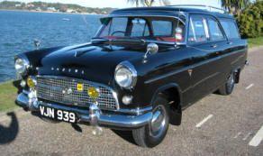 1956 1958 Ford Consul Abbot Estate Classic British Ford Cars