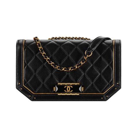 718afba62d38 chanel flap bag dark gold black 800