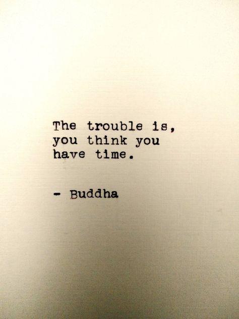 Buddha Handtyped Quote 5x7 Print Typewriter Quote Print | Etsy