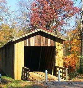 Athens, Georgia has at least five covered bridges within thirty miles of town.