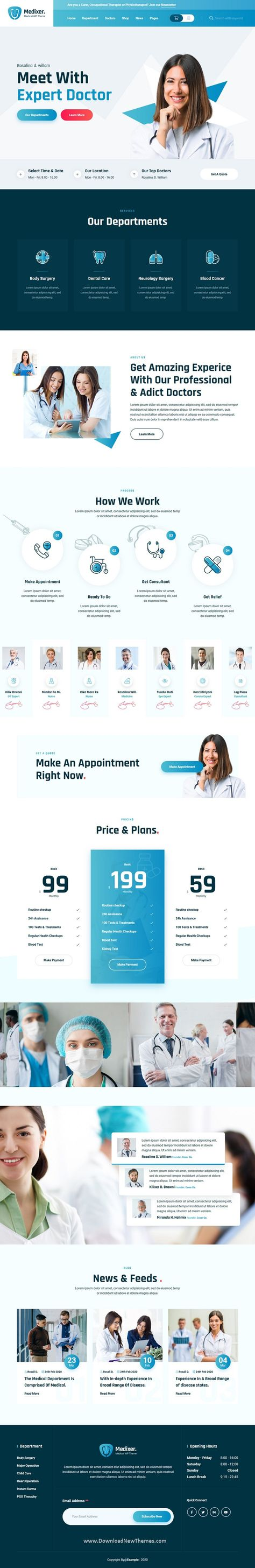 Medical and Health HTML5 Template