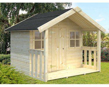 Palmako Spielhaus Felix 169 Cm X 216 Cm X 184 Cm Kaufen Bei Obi Spielhaus Spielhaus Garten Kinderhaus