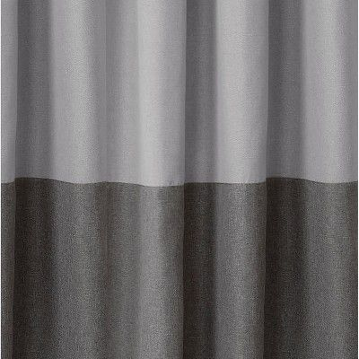 Braiden Color Block Blackout Window Curtain Panel 52 X 95