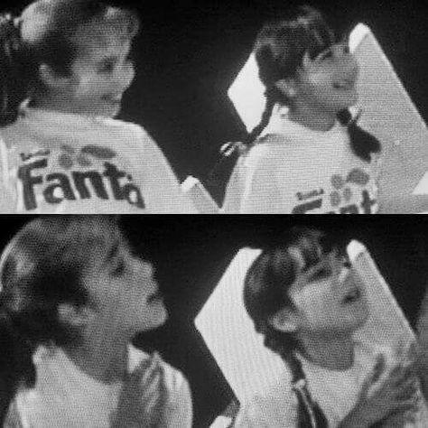 Anahi & Dulce quando eram crianças