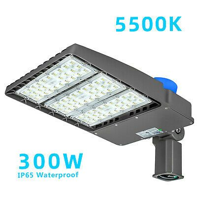 Sponsored Ebay Led Parking Lot Light With Photocell 300w 450w 800w Equiv Dusk To Dawn In 2020 Led Parking Lot Lights Security Lights Parking Lot Lighting